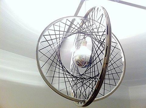 fietswiel lamp