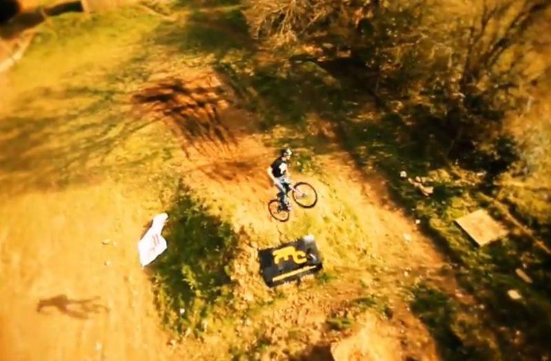 Aerial-Mountain-Biking