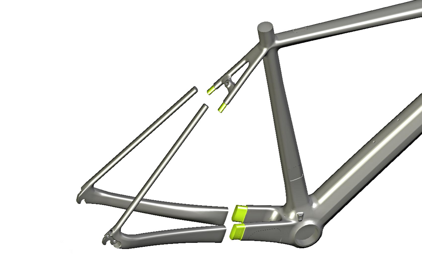 Fuji SL, frame van 695 gram   Fiets.nl - Race en MTB website