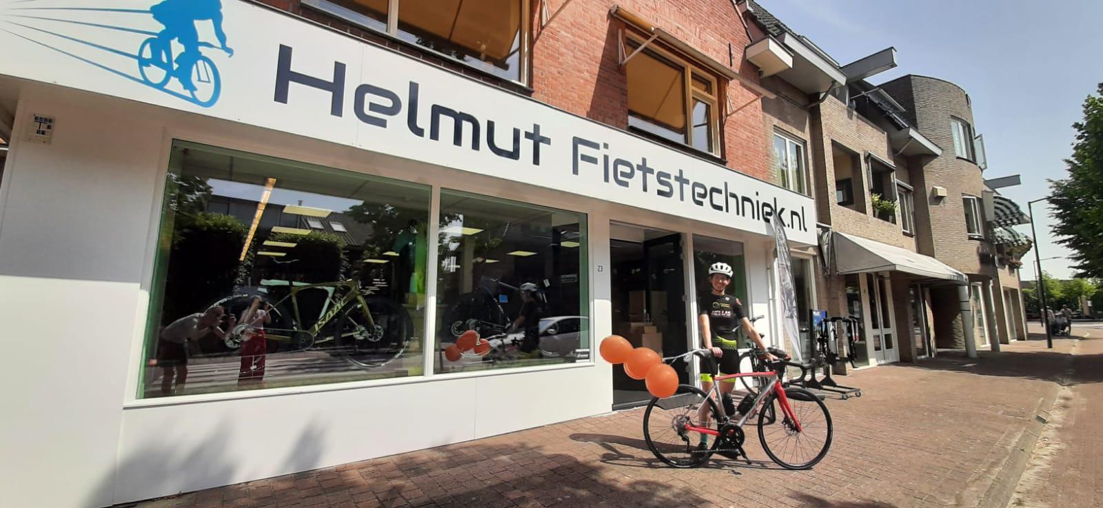 Helmut fietstechniek