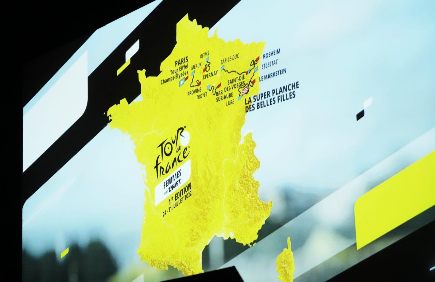 Parcours Tour de France voor vrouwen