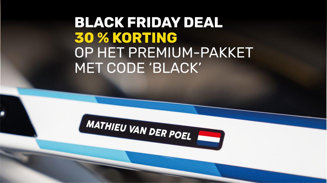 Black Friday Deal, Pro Bike Sticker