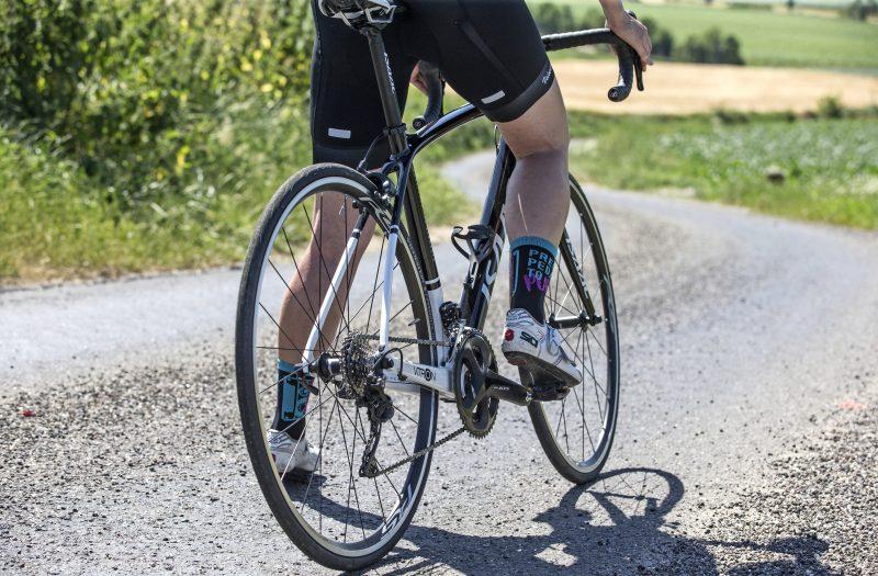 Sfeerbeeld fietser