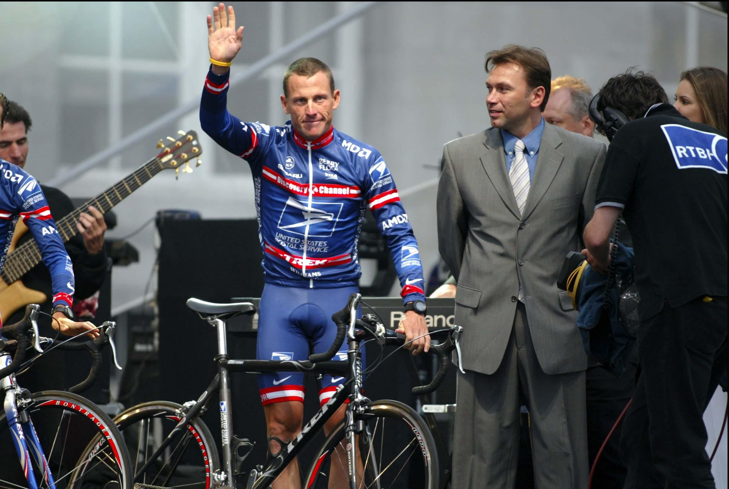 Tour de France 2004 - ploegenpresentatie