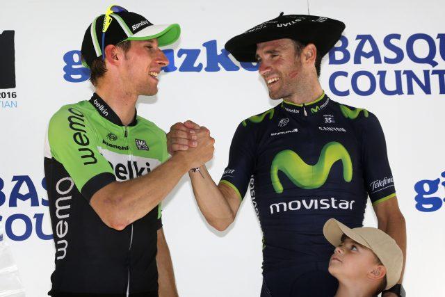 Bauke Mollema en Alejandro Valverde 2014