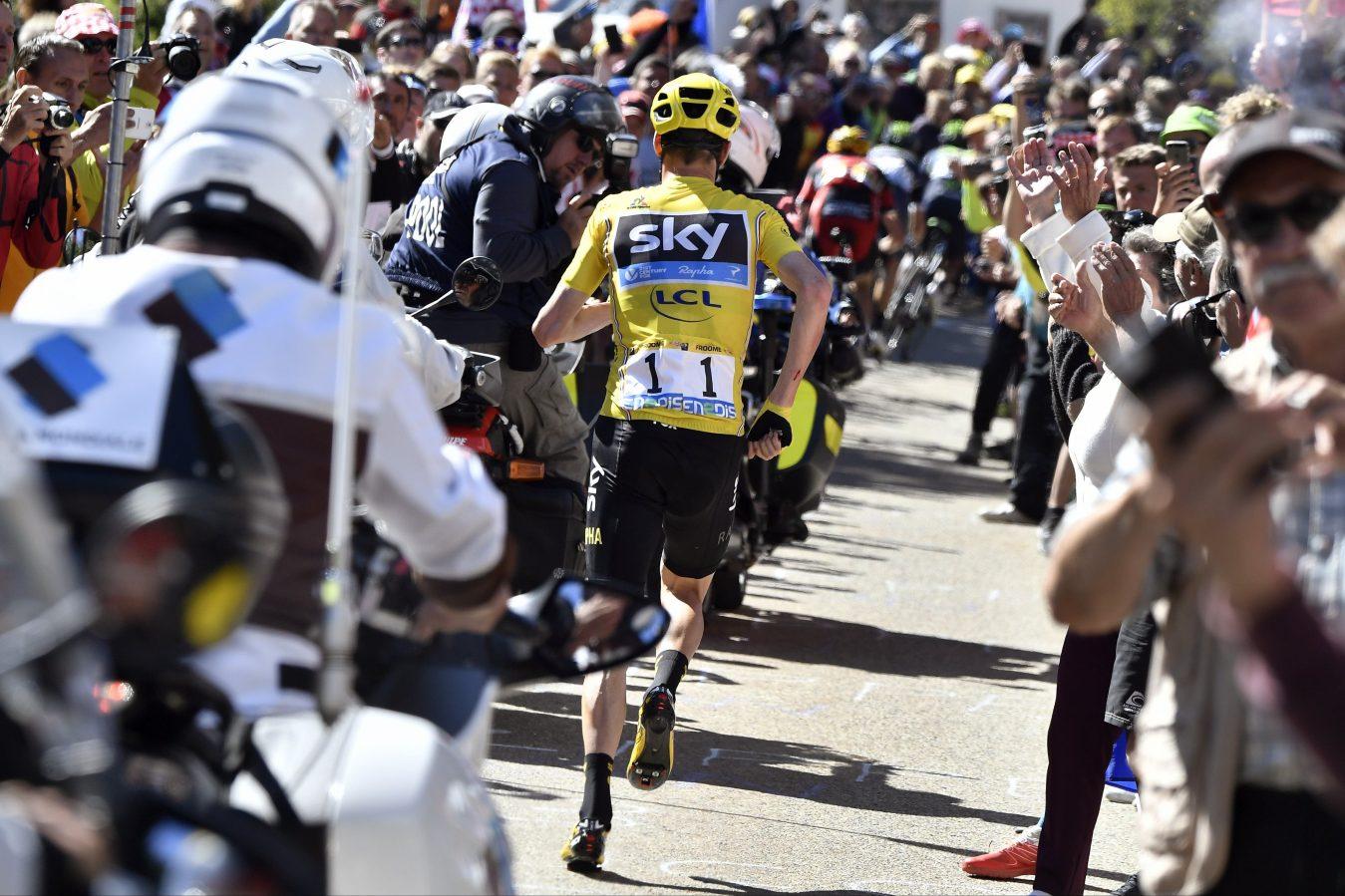 Tour de France, Mont Ventoux en Chris Froome