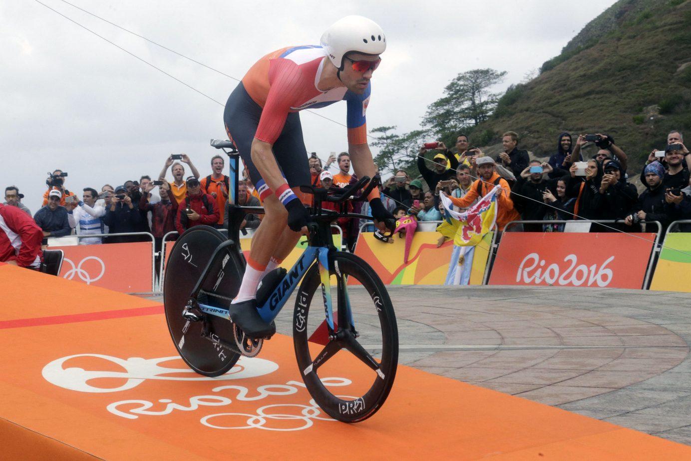 Tom Dumoulin in Rio 2016