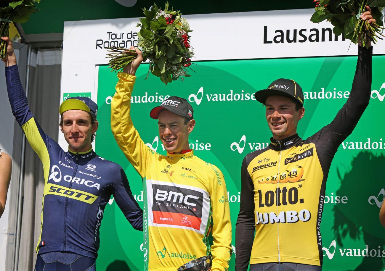 Podium Ronde van Romandië 2017