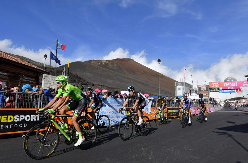 Etna, Giro d'Italia 2018