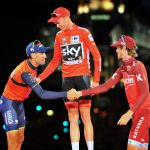 Podium Vuelta a España 2017