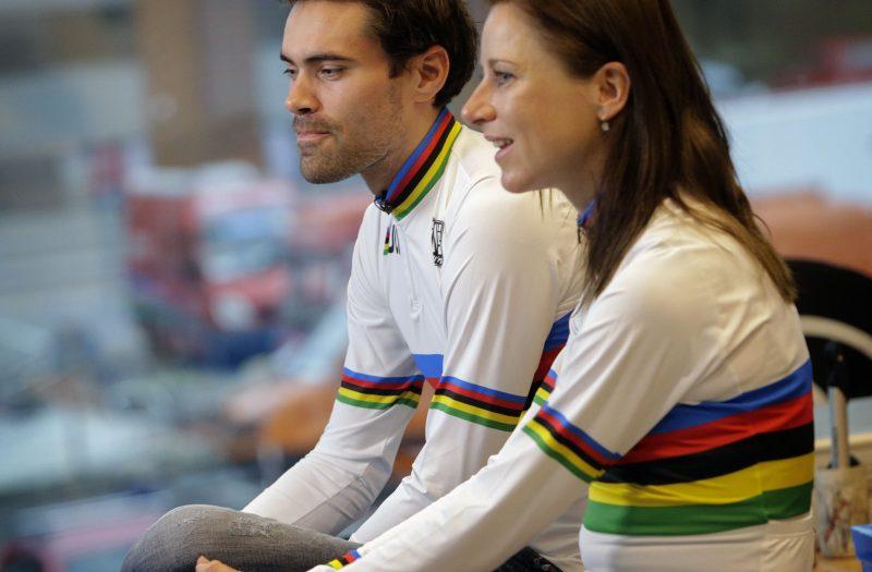 Tom Dumoulin en Annemiek van Vleuten 2018