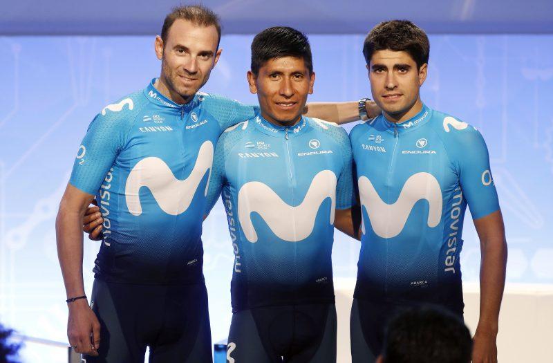 Alejandro Valverde, Nairo Quintana, Mikel Landa 2019