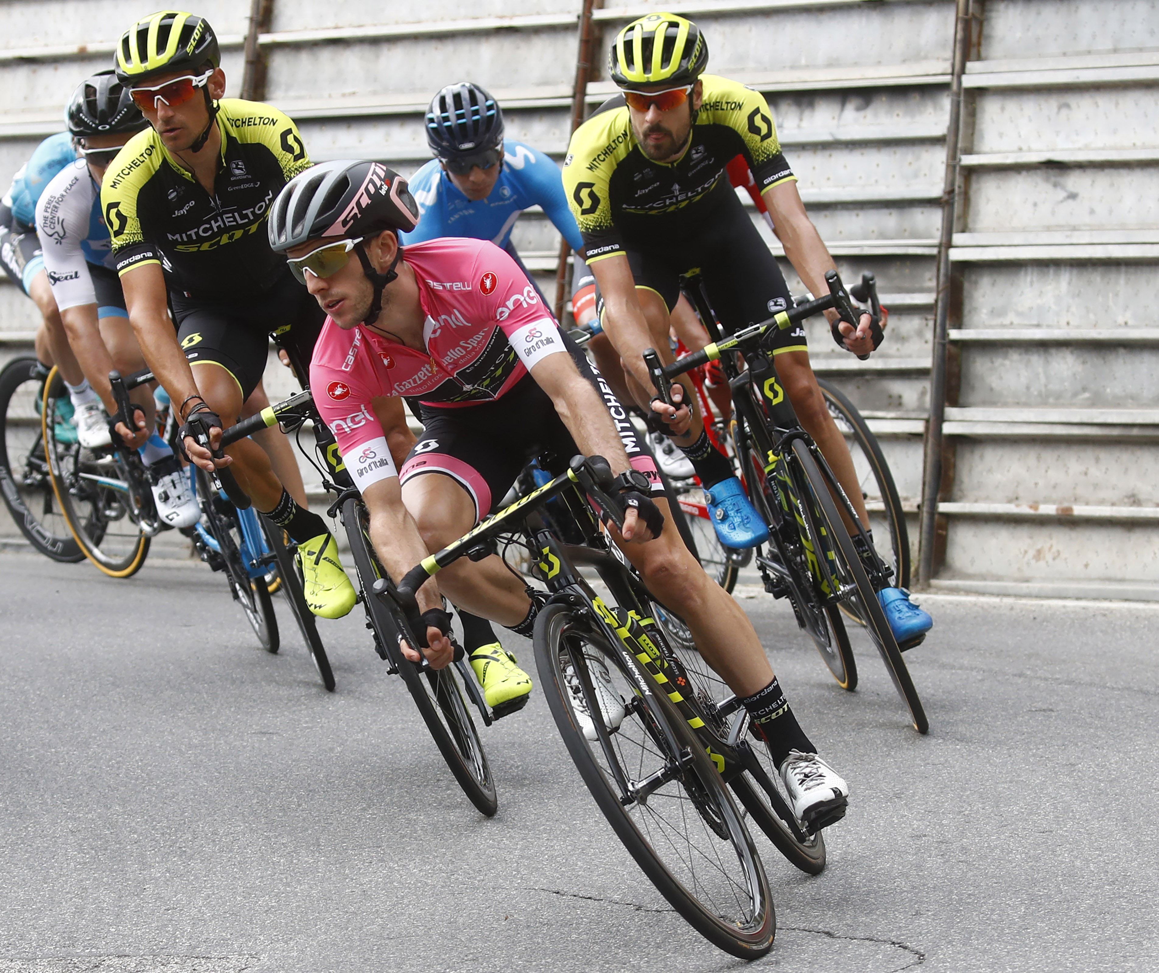 Simon Yates, Giro d'Italia peloton