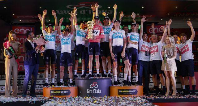 Team Sky Giro 2019