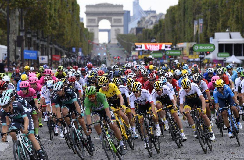 Tour de France 2018 peloton