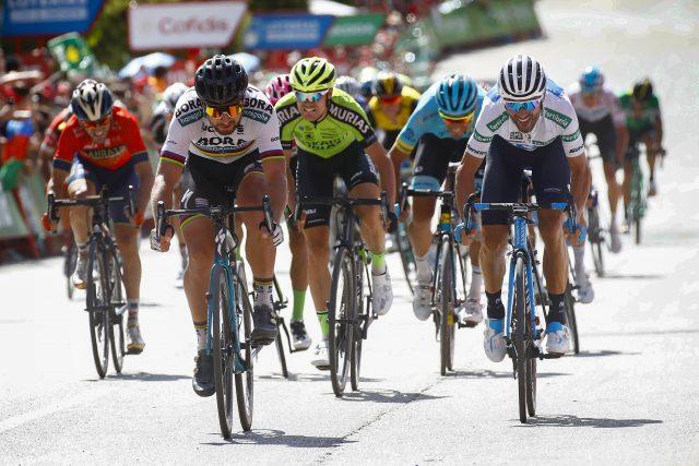 Peter Sagan en Alejandro Valverde 2018