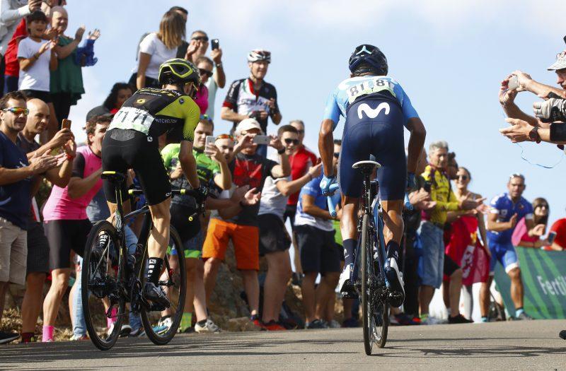 Simon Yates en Nairo Quintana 2018