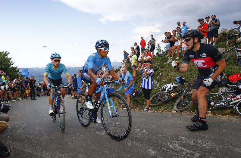 Nairo Quintana, Miguel Angel Lopez, Vuelta 2018