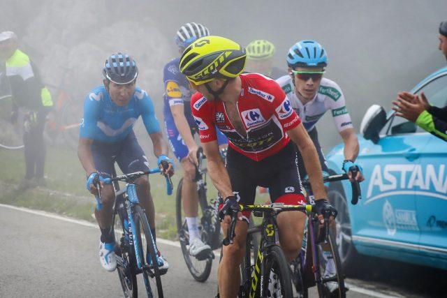 Nairo Quintana, Simon Yates, Miguel Angel Lopez 2018