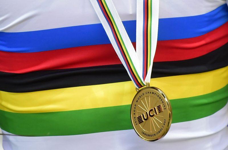 regenboogtrui WK wielrennen 2018