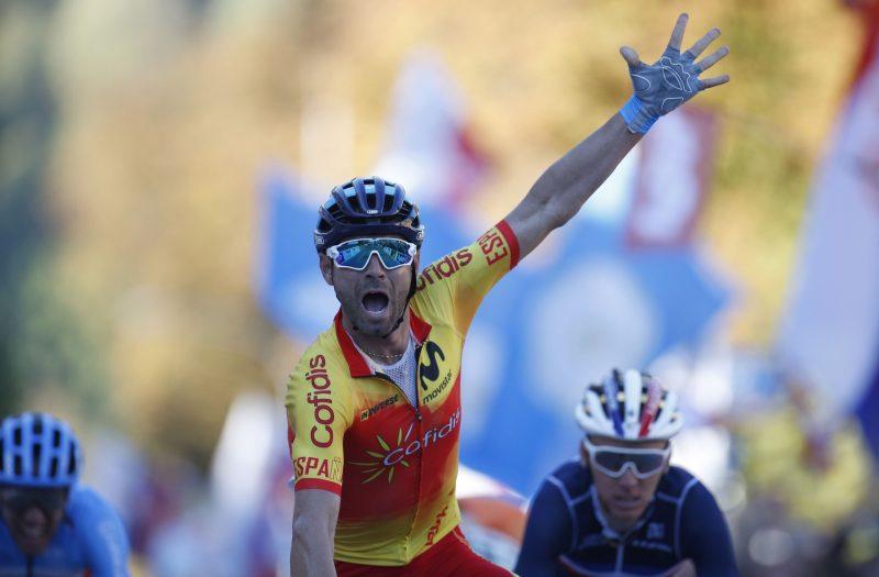 Alejandro Valverde 2018 WK