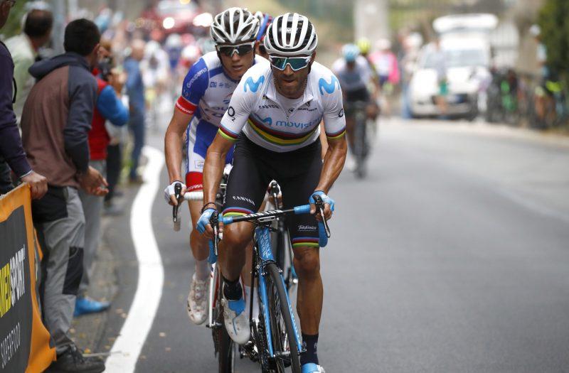 Thibaut Pinot en Alejandro Valverde 2018