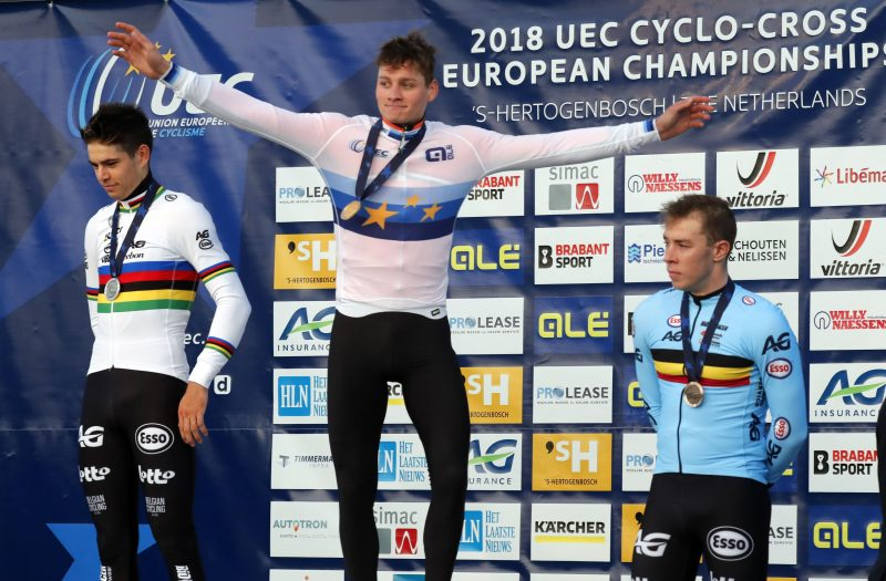 Mathieu van der Poel EK veldrijden 2018