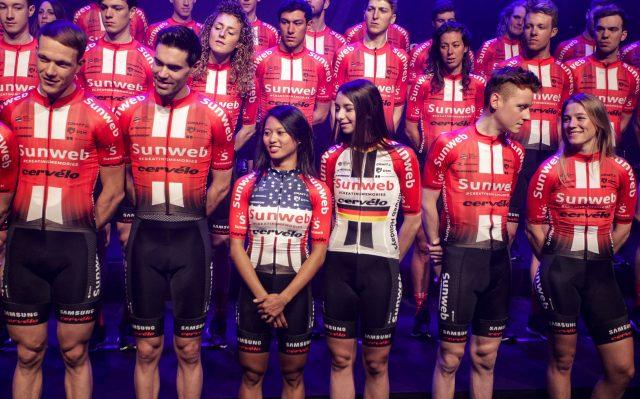 Teampresentation Team Sunweb 2019