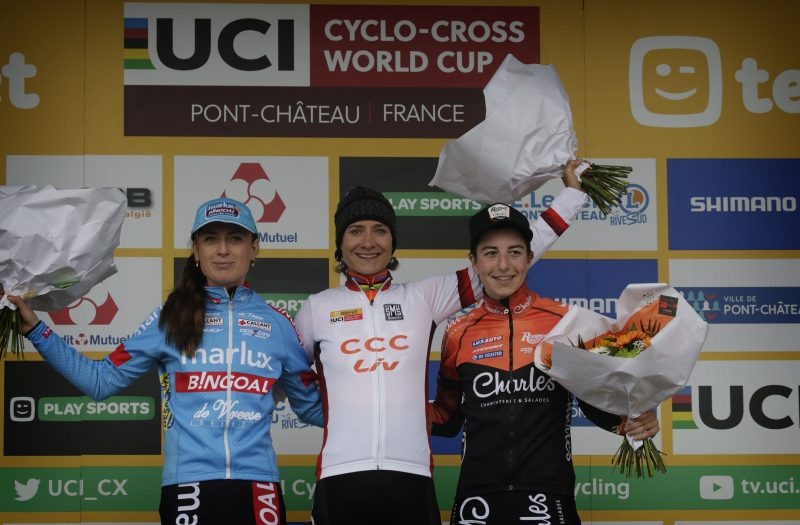 World Cup cyclocross Pontchateau 2019 women