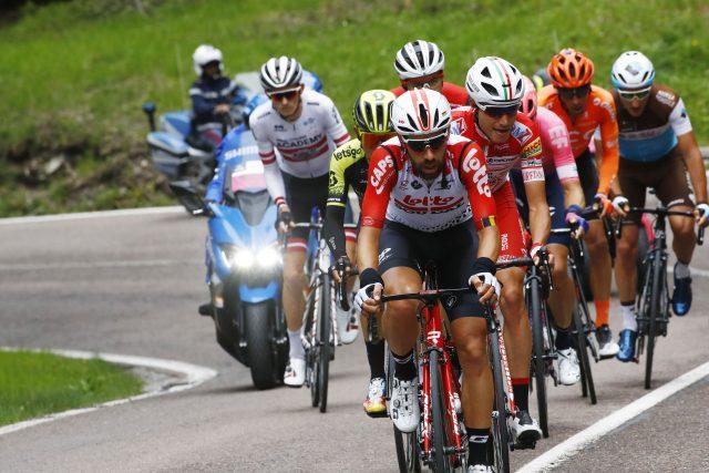 Giro d'Italia 2019 kopgroep