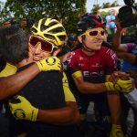 Egan Bernal en Geraint Thomas 2019