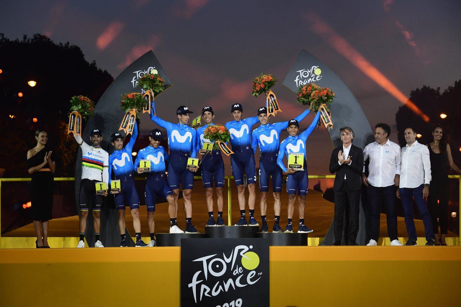 Tour de France 2019 - Movistar