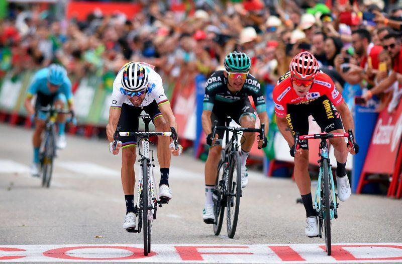 Valverde, Majka en Roglic