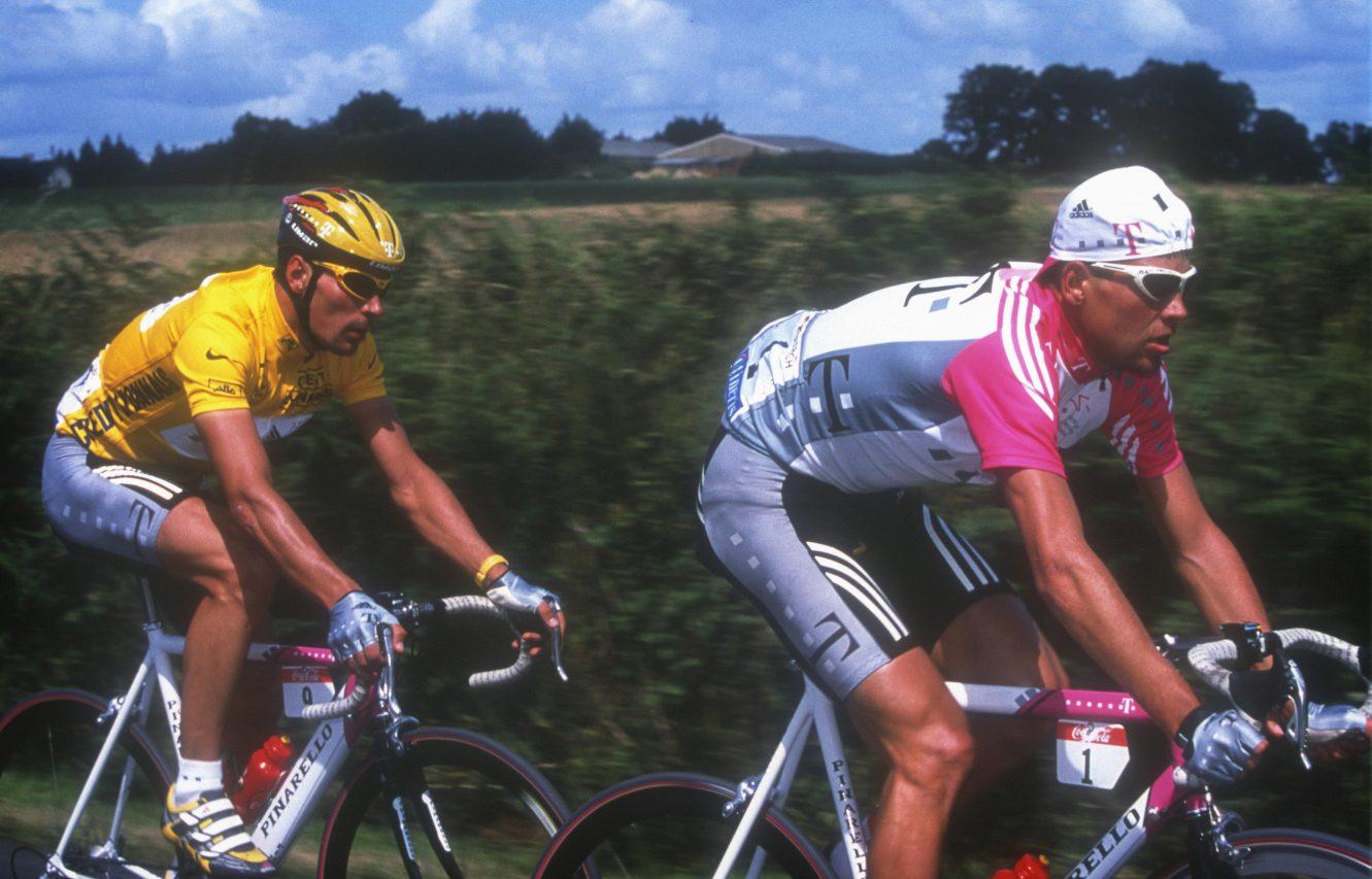 Erik Zabel en Jan Ullrich