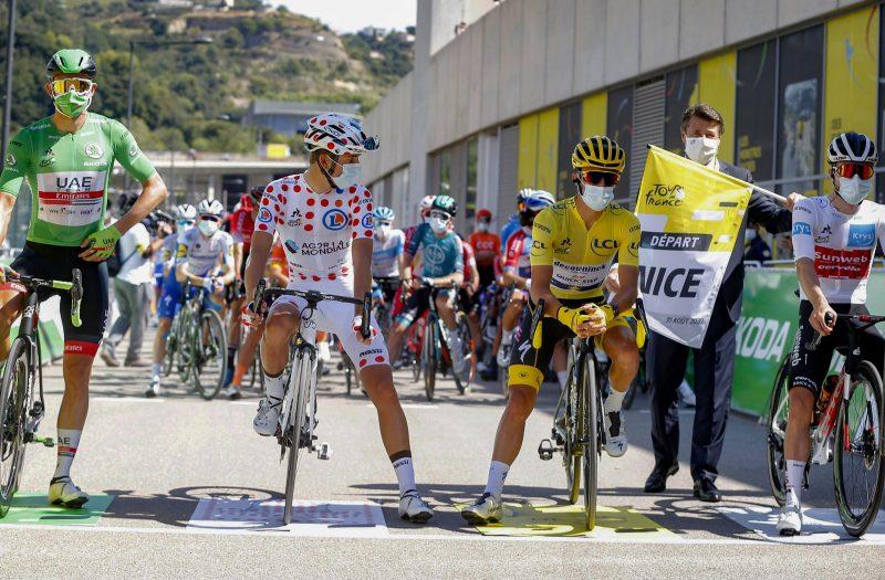 De dragers van de truien, Tour de France 2020