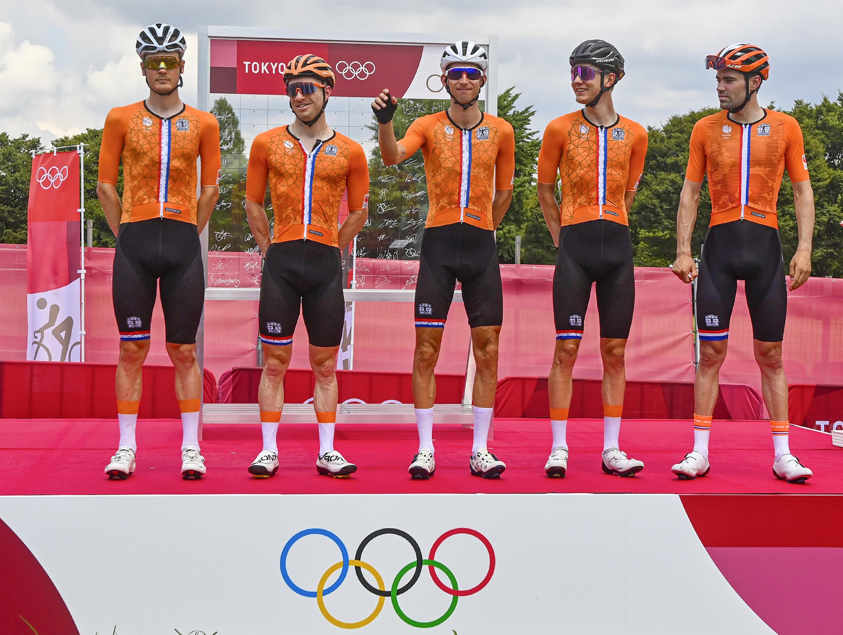 Olympische wegrit 2021