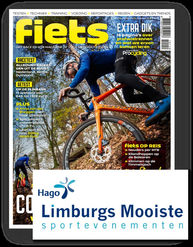 6 nummers Fiets + 1 startbewijs Limburgs Mooiste