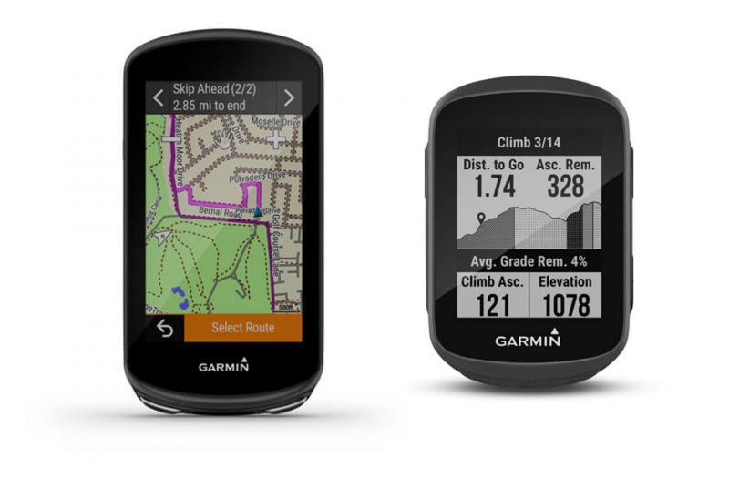 Garmin Edge 130 Plus en Edge 1030 Plus