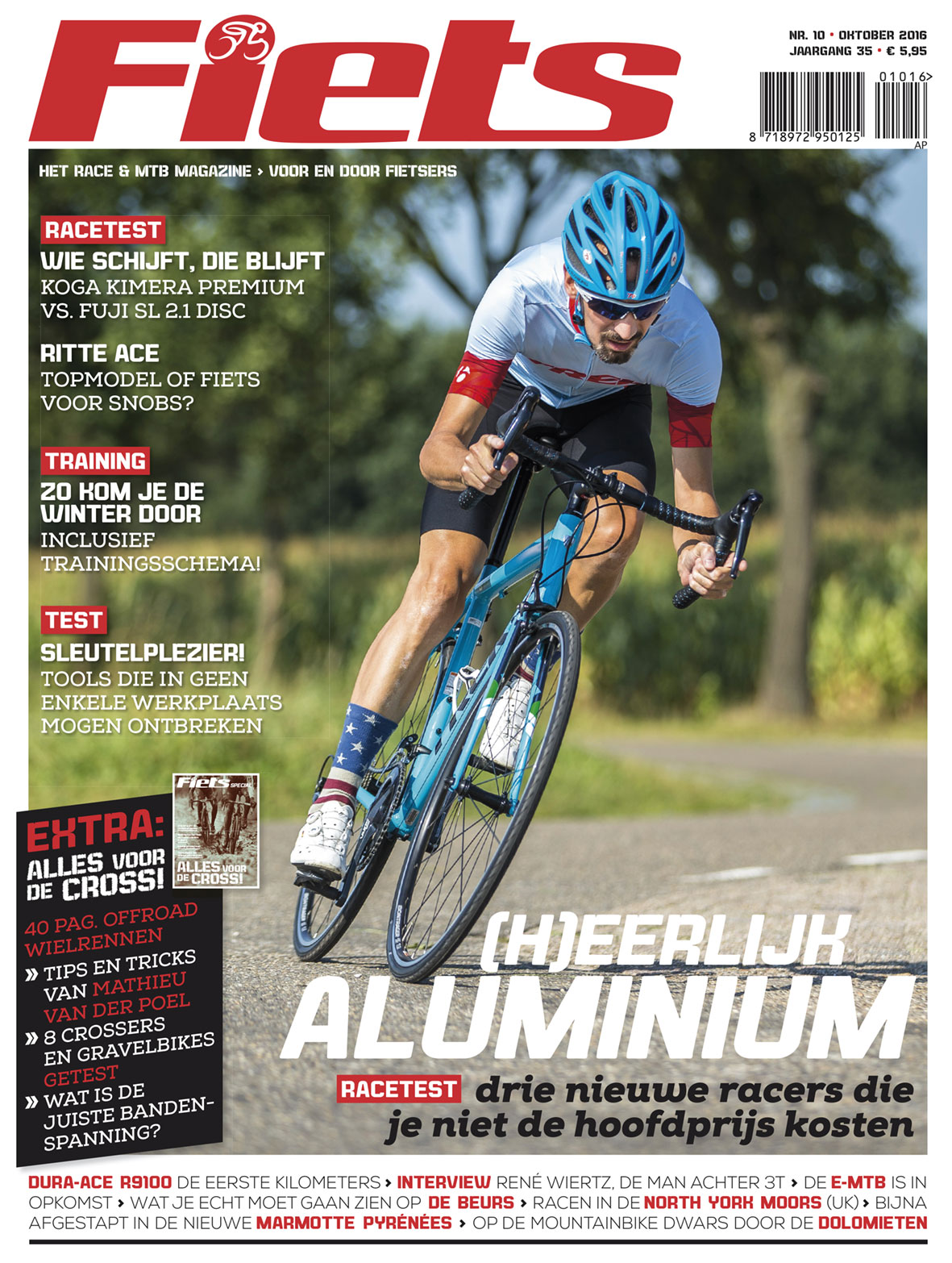 Fiets editie 10 - oktober 2016 + Cyclocross Special