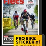 6 nummers Fiets + gratis setje Pro Bike Stickers