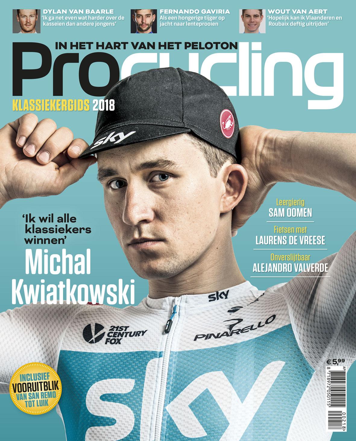 Procycling 3 Nummers Cadeau Abonnement Tijdschriften