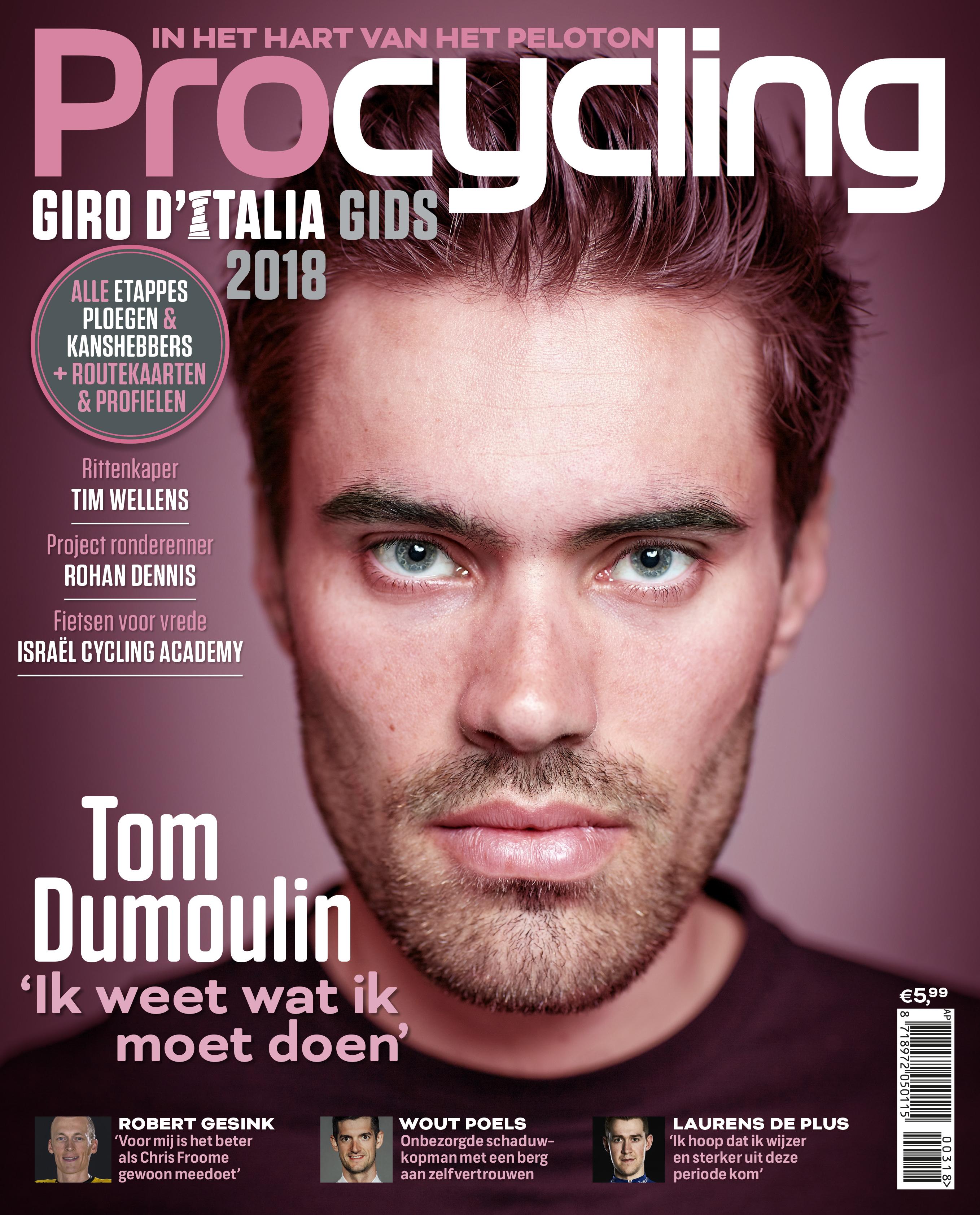 Afbeeldingsresultaat voor procycling magazine nederland cover
