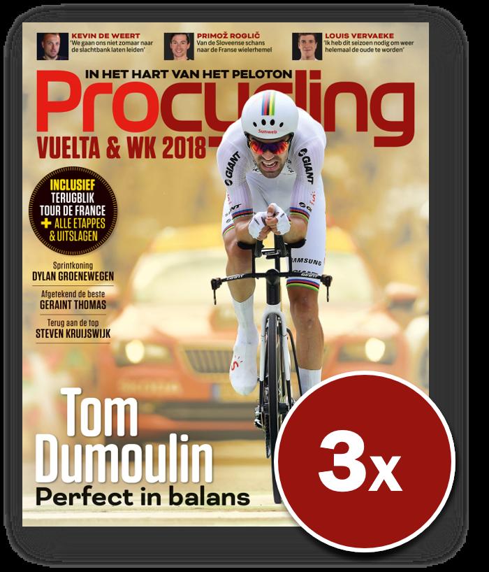 3 nummers Procycling (cadeau-abonnement)