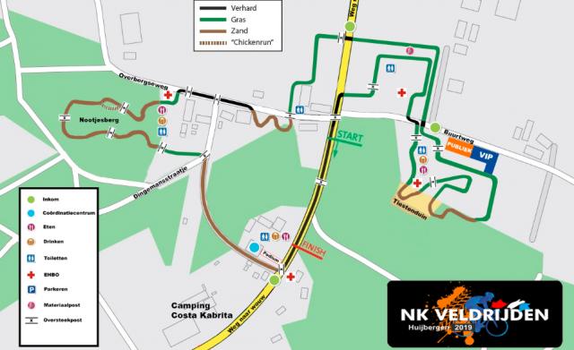 Parcours NK veldrijden 2019