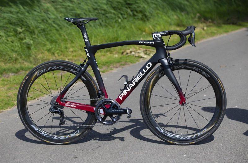 Super Pinarello Dogma F12 Ineos. De fiets van de TdF winnaar ? | Fiets SZ-01