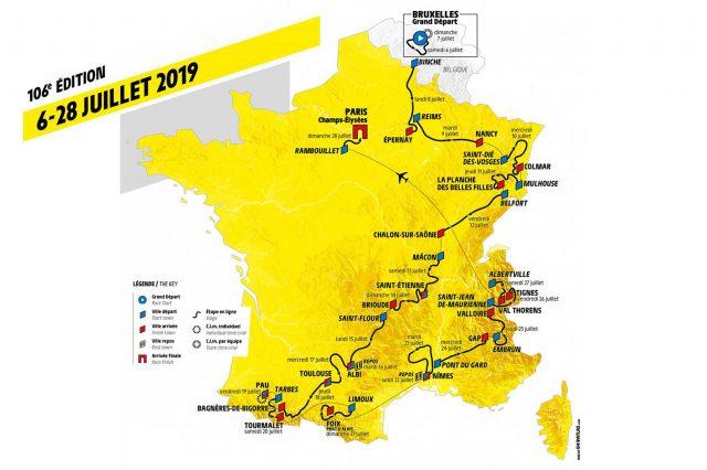 Profiel Tour de France 2019