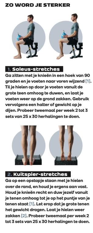 Oefeningen voor onderbenen