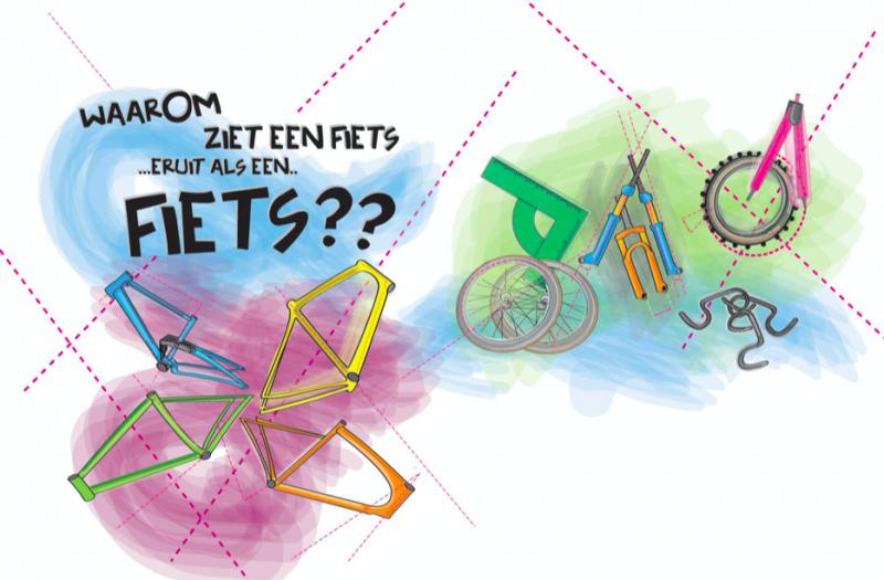 Waarom ziet een fiets eruit als een fiets