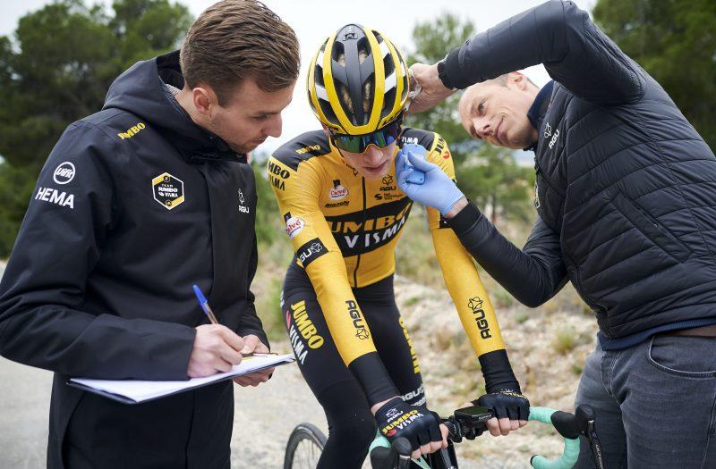 Trainingskamp Alicante_lactaattest_Martijn Redegeld, Owen Geleijn, Mathieu Heijboer