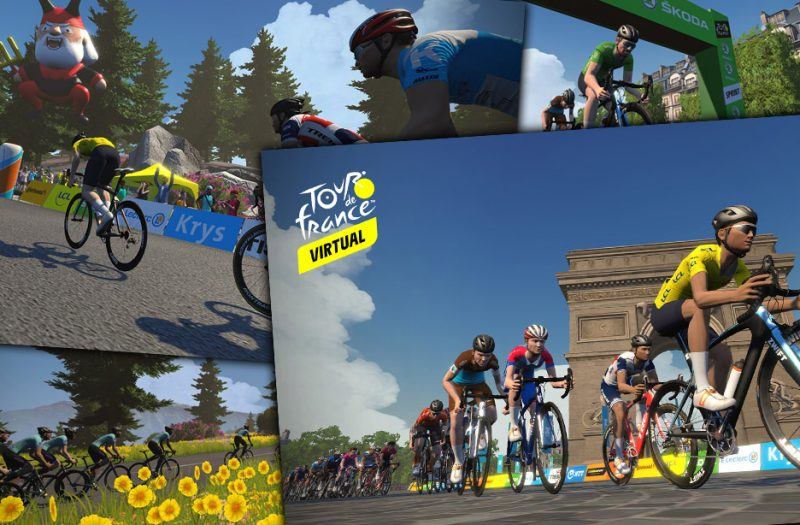 Virtual Tour de France 2020